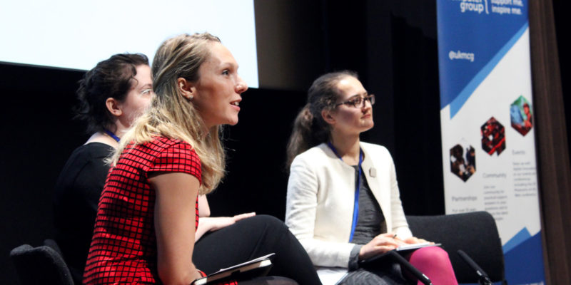 Panel discussion at Museums + Tech 2018